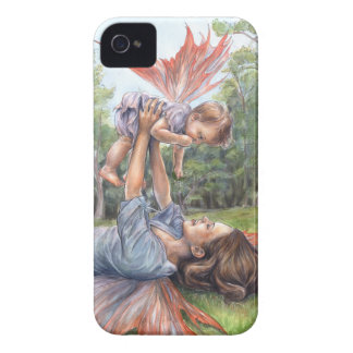 """Stretching Her Wings"" Barely There iPhone 4 Case"