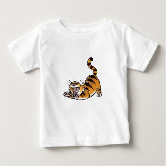 Stretching Tiger Infant T-shirt
