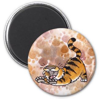 Stretching Tiger Magnet