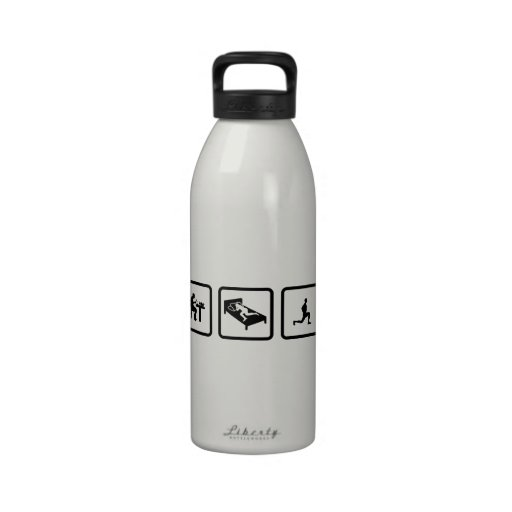 Stretching Reusable Water Bottle