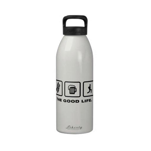 Stretching Reusable Water Bottles