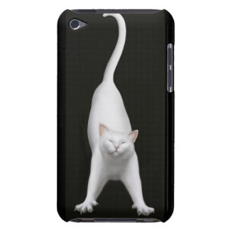 Stretching White Kitty Cat Speck Case