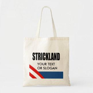 STRICKLAND 2010 CANVAS BAG