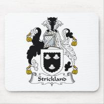 Strickland Family Crest Mousepad