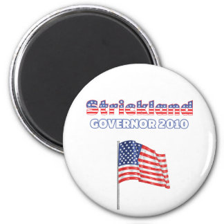 Strickland Patriotic American Flag 2010 Elections 2 Inch Round Magnet