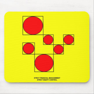 STRICT FINANCIAL MANAGEMENT - STRICT EQUITY CONTRO MOUSE PAD