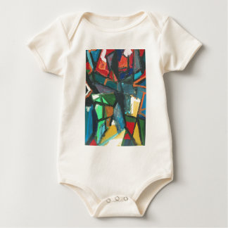 Strict Interior (abstract interior) Baby Bodysuit