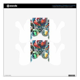 Strict Interior (abstract interior) PS3 Controller Decal