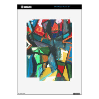 Strict Interior abstract interior iPad 2 Decals