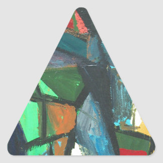 Strict Interior (abstract interior) Triangle Sticker