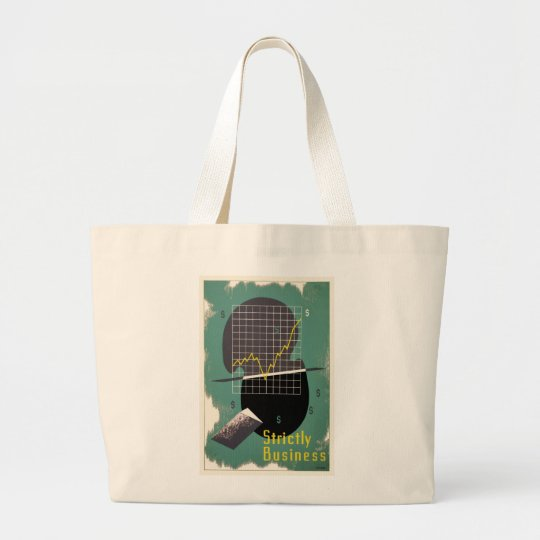 Strictly Business Large Tote Bag