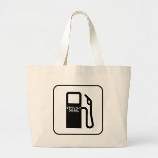 Strictly Diesel Jumbo Tote Bag