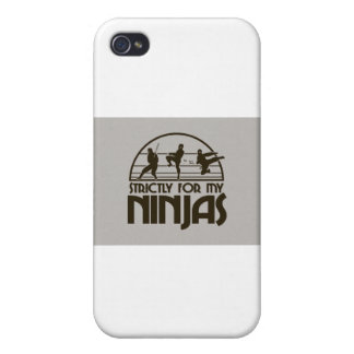 STRICTLY FOR MY NINJAS iPhone 4/4S CASES