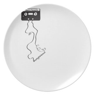 Strictly old school! dinner plate