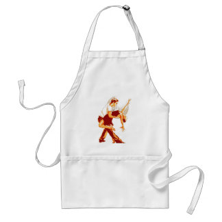 Strictly Salsa Brown Shades Adult Apron