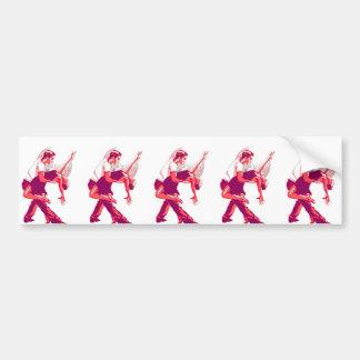 Strictly Salsa Red Shades Bumper Sticker