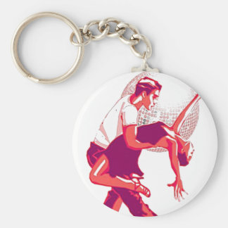 Strictly Salsa Red Shades Keychain