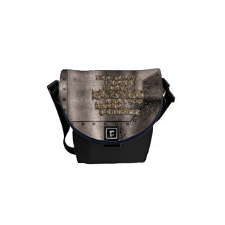STRICTLY TYPOGRAPHY 1 COURIER BAG