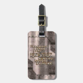 STRICTLY TYPOGRAPHY 1 LUGGAGE TAG