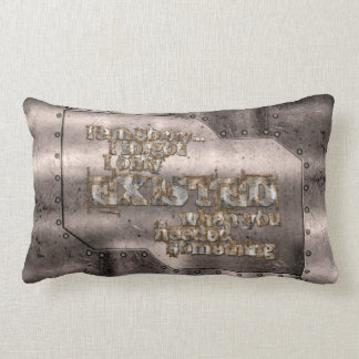 STRICTLY TYPOGRAPHY 1 LUMBAR PILLOW