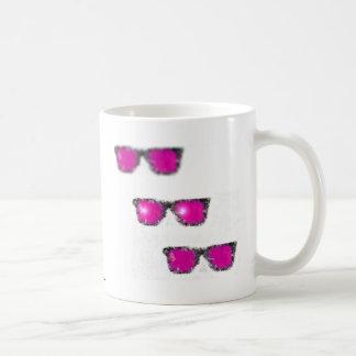 strictlypinkstuff classic white coffee mug