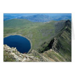 Striding Edge from Helvellyn, Lake District, Engla Greeting Cards