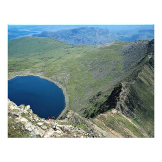 Striding Edge from Helvellyn, Lake District, Engla Flyer