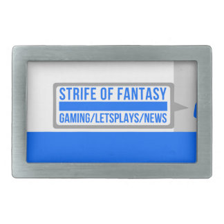 Strife full logo belt buckle