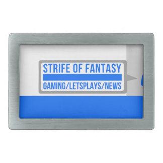 Strife full logo belt buckle