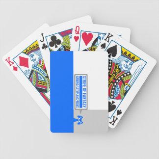 Strife full logo bicycle playing cards