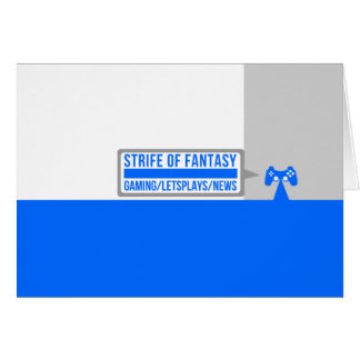 Strife full logo card