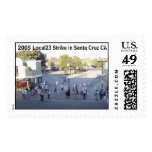strike, 2005 Local23 Strike in Santa Cruz CA Stamps