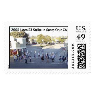 strike, 2005 Local23 Strike in Santa Cruz CA Postage Stamp