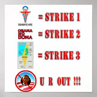 Strike 3 - U R OUT! Poster