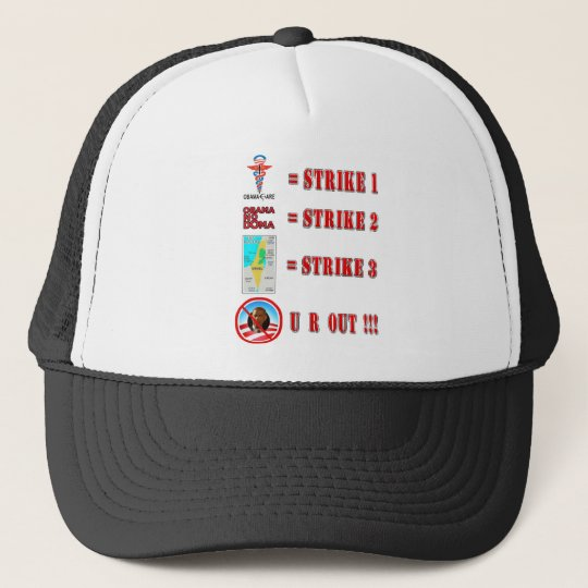 Strike 3 - U R OUT!!! Trucker Hat