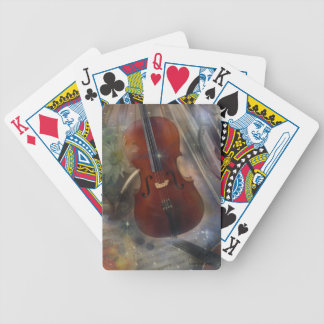 Strike a Chord with this Beautiful Musical Design Bicycle Playing Cards