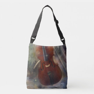 Strike a Chord with this Beautiful Musical Design Crossbody Bag