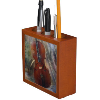 Strike a Chord with this Beautiful Musical Design Desk Organizers