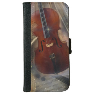 Strike a Chord with this Beautiful Musical Design iPhone 6/6s Wallet Case
