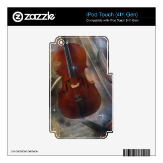 Strike a Chord with this Beautiful Musical Design iPod Touch 4G Skin
