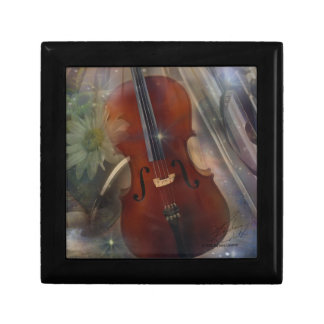 Strike a Chord with this Beautiful Musical Design Keepsake Box