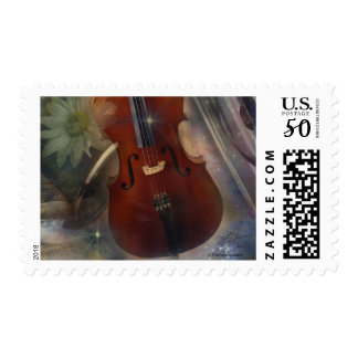Strike a Chord with this Beautiful Musical Design Postage