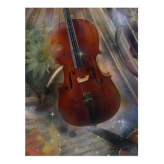 Strike a Chord with this Beautiful Musical Design Postcard