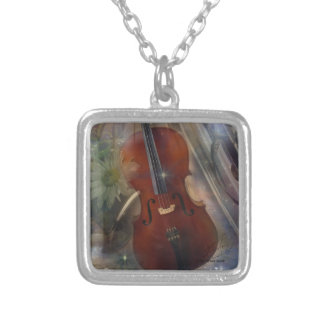 Strike a Chord with this Beautiful Musical Design Silver Plated Necklace