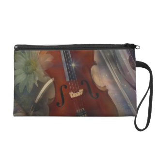 Strike a Chord with this Beautiful Musical Design Wristlet