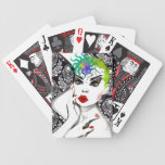Strike a Pose Bicycle Poker Cards