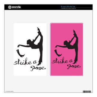 Strike a Pose ~ Dancer & Yoga Inspired Creative Kindle Fire Decal