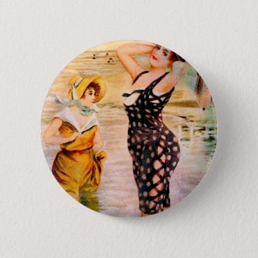 STRIKE A POSE PINBACK BUTTON