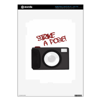 Strike A Pose Skin For iPad 3