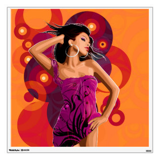 Strike a Pose Wall Decal